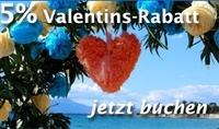 Sardinien-Urlaub 2012: Mit dem Valentins-Angebot für Verliebte 5% sparen