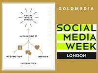 Goldmedia at Social Media Week 2012 in London