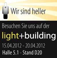 """""""Wir sind heller"""" auf der Light and Building"""