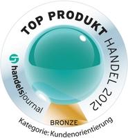 """Klimaneutrale Kartenproduktion: Bronze beim """"Top Produkt Handel 2012"""""""
