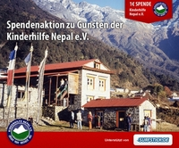 Surfstick.de: Spendenaktion zu Gunsten der Kinderhilfe Nepal e.V.