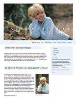 Ingrid Steeger feiert Geburtstag, Premiere und den neuen Internetauftitt.