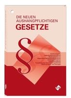 """""""Die neuen aushangpflichtigen Gesetze"""" - aktualisierte Neuauflage erschienen"""