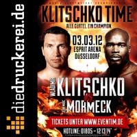 diedruckerei.de ist Ringsponsor beim WM-Kampf Klitschko versus Mormeck