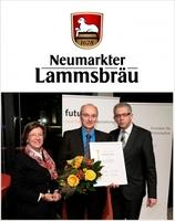 Lammsbräu-Nachhaltigkeitsbericht auf Platz 1 beim IÖW/future-Ranking 2011
