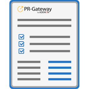 PR-Gateway Basis-Report