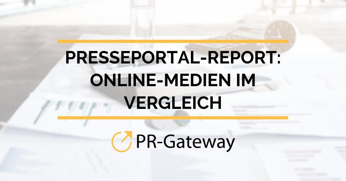 Presseportal-Report: Online-Medien für 2020 im Vergleich