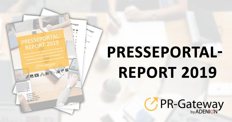 Presseportal-Report 2019
