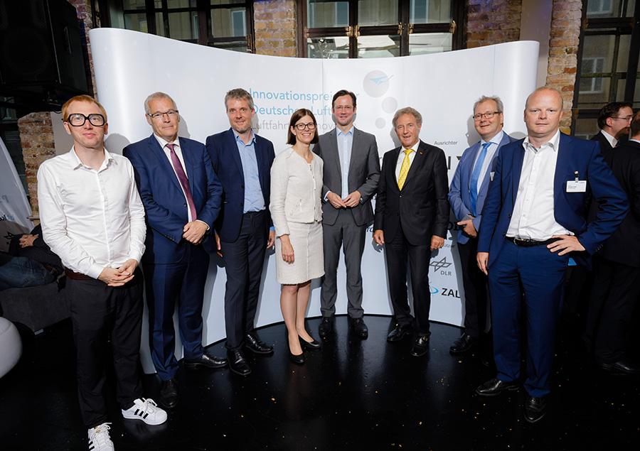 Innovationspreis der Deutschen Luftfahrt – die Sieger 2017