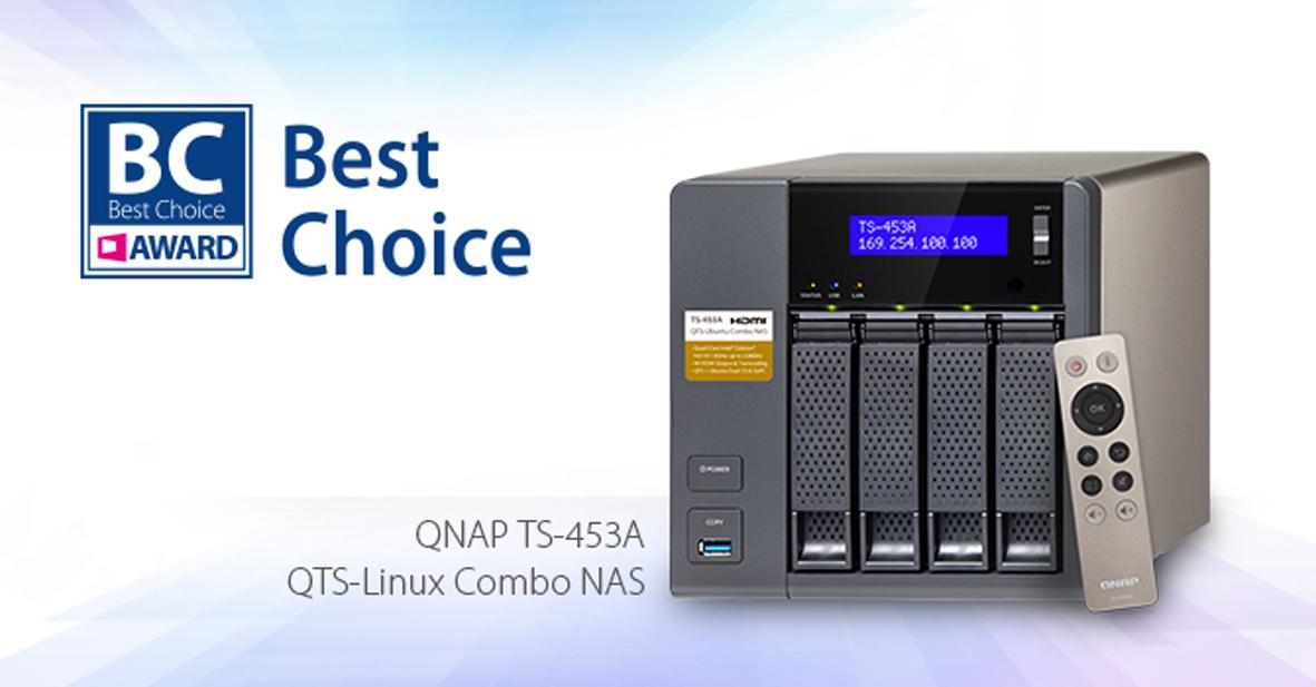 QNAP TS-453A: Ausgezeichnet auf der COMPUTEX