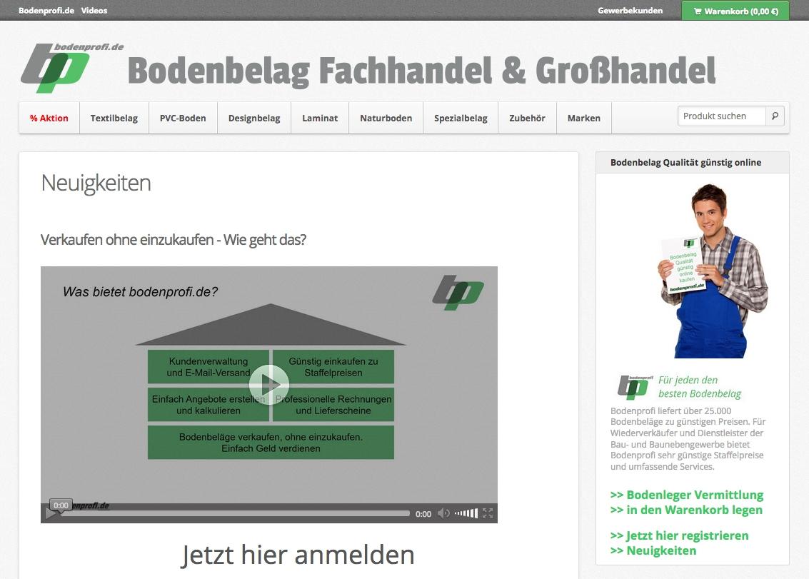BAU2017 – bodenprofi.de innovativer Bodenbelag Großhandel