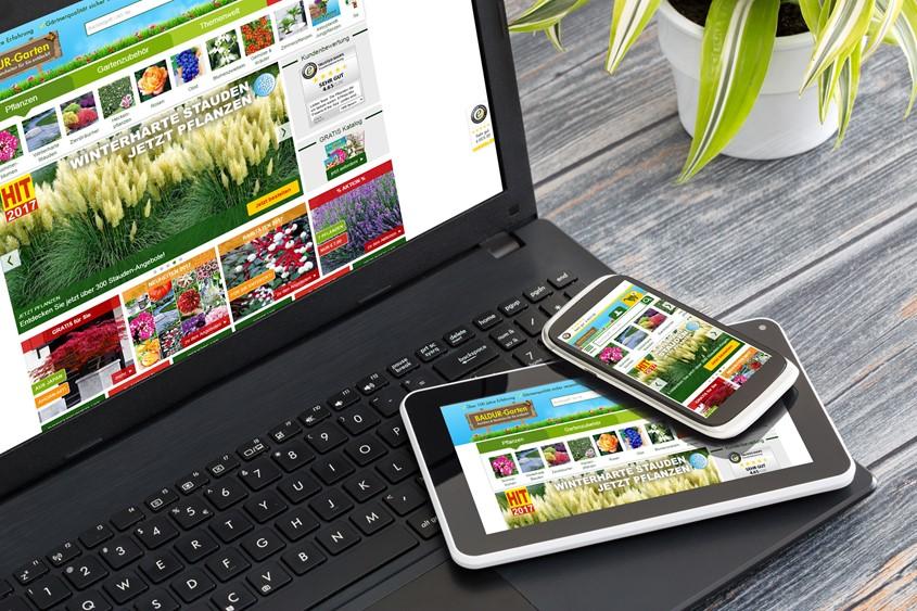 Neuer Shop bringt Baldur-Garten auf mobilen Wachstumskurs