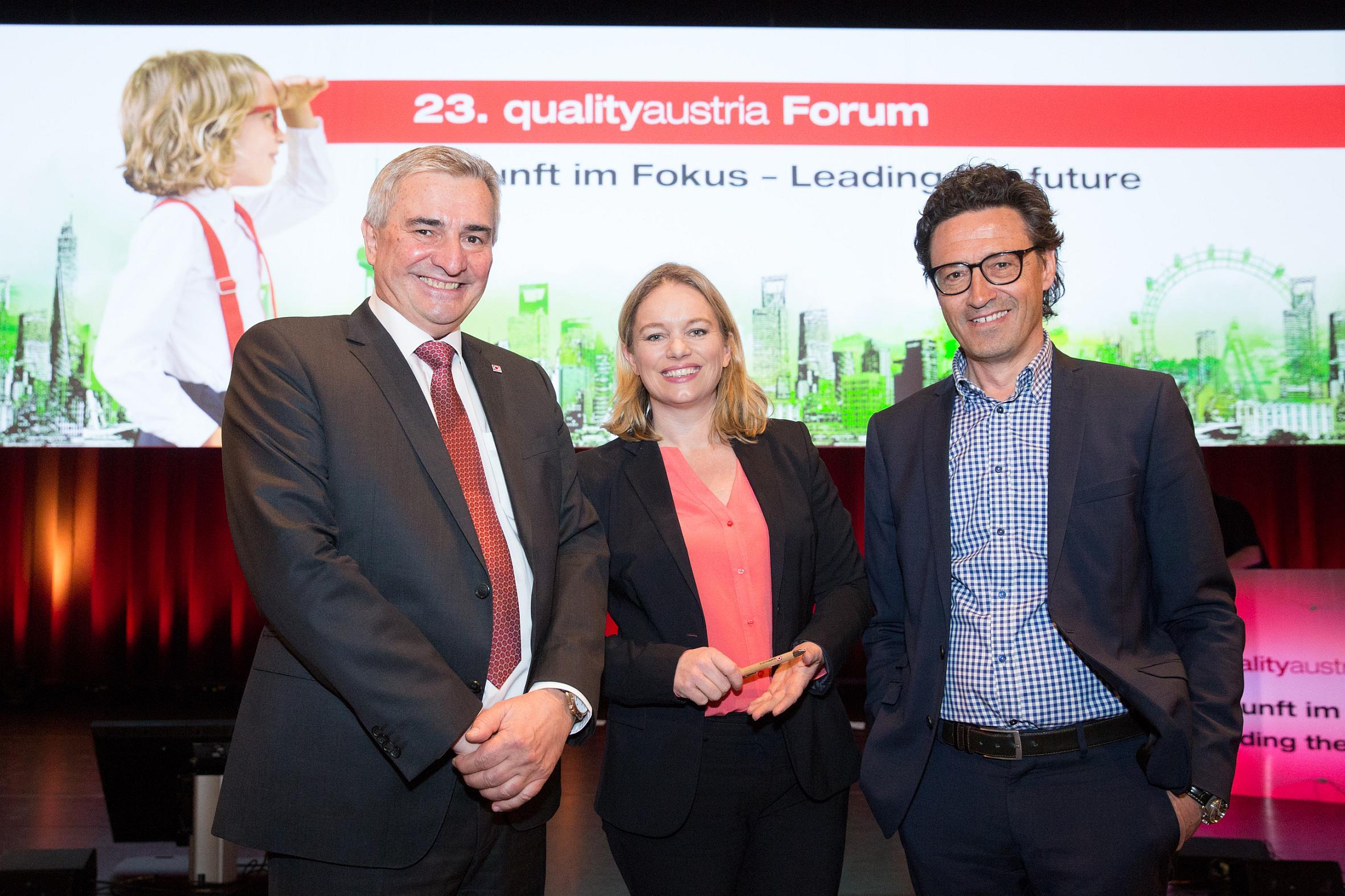23. qualityaustria Forum: Zukunft 4.0 – Wie Unternehmen dynamische Veränderungen managen