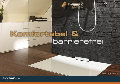 Komfortabel oder barrierefrei?