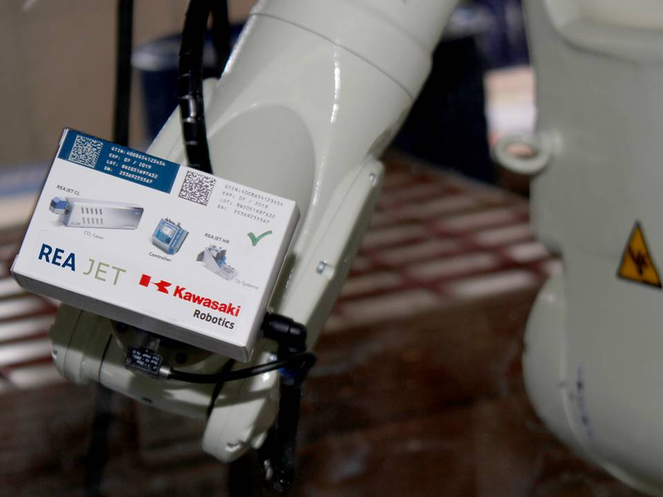 REA JET: Robotik für die Intralogistik