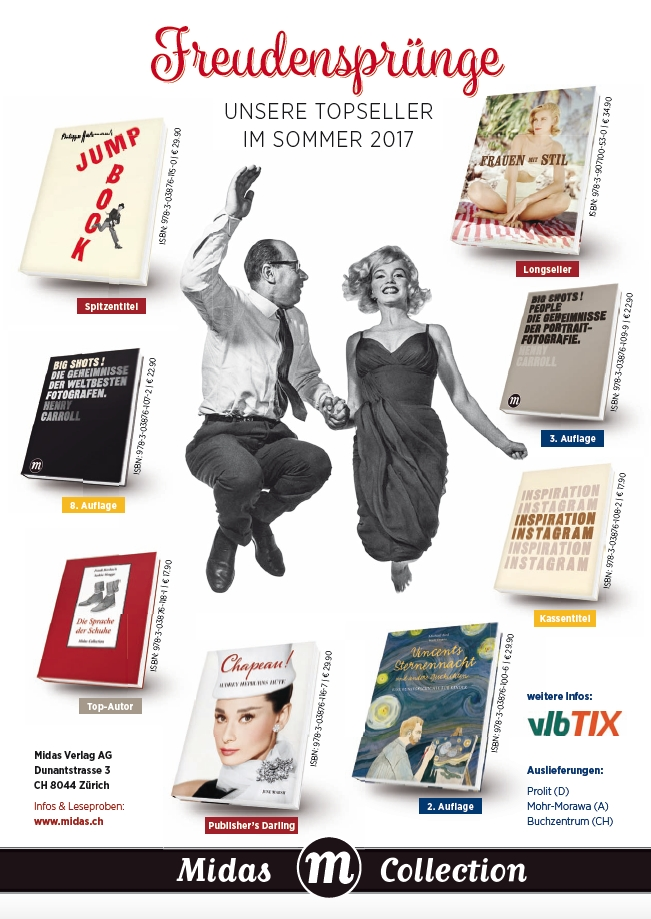 Freudensprünge in Buchform – neue Bücher Midas Collection