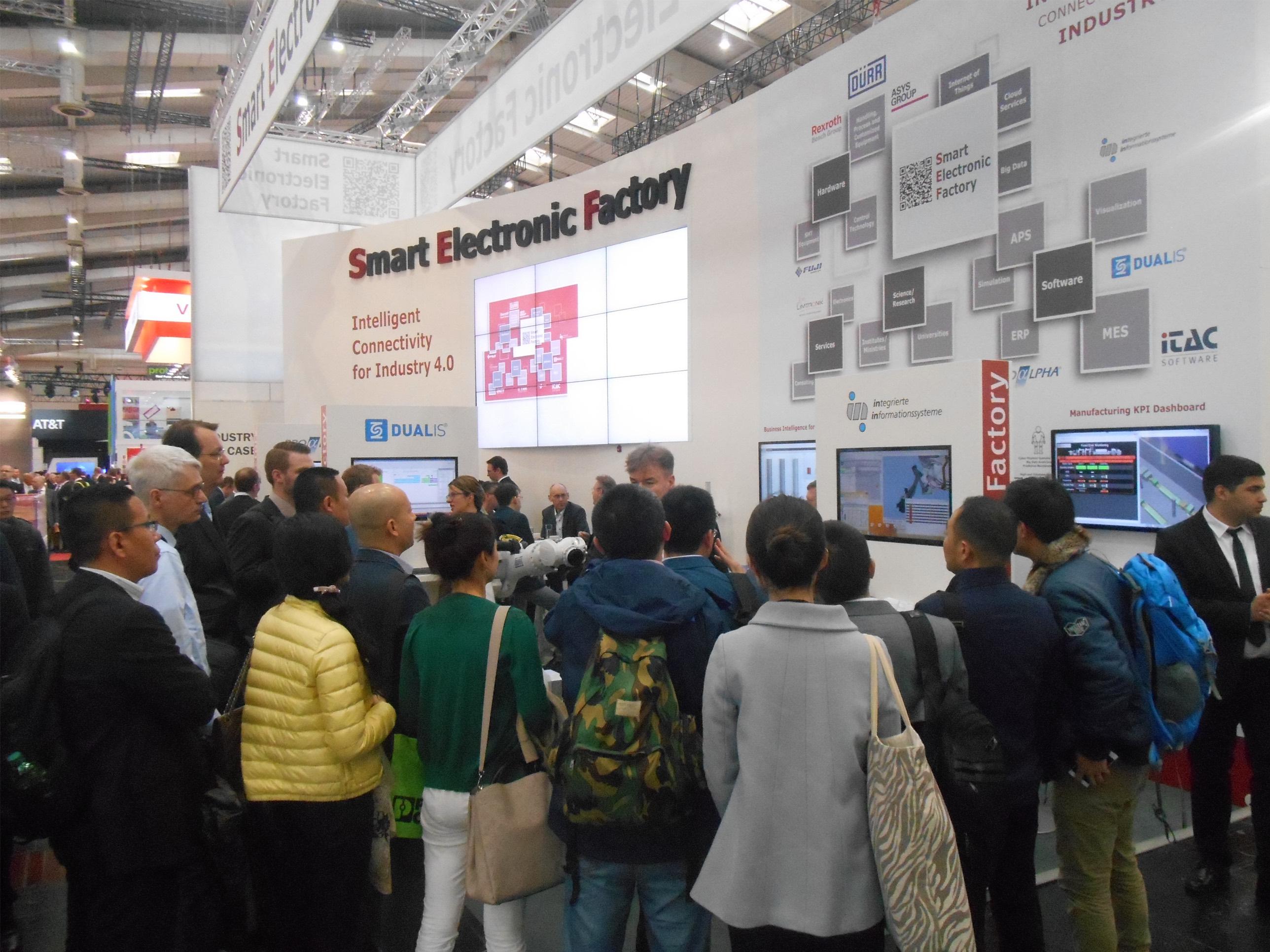 SEF Smart Electronic Factory e.V. auf der HANNOVER MESSE: Mehrwert durch Industrie 4.0