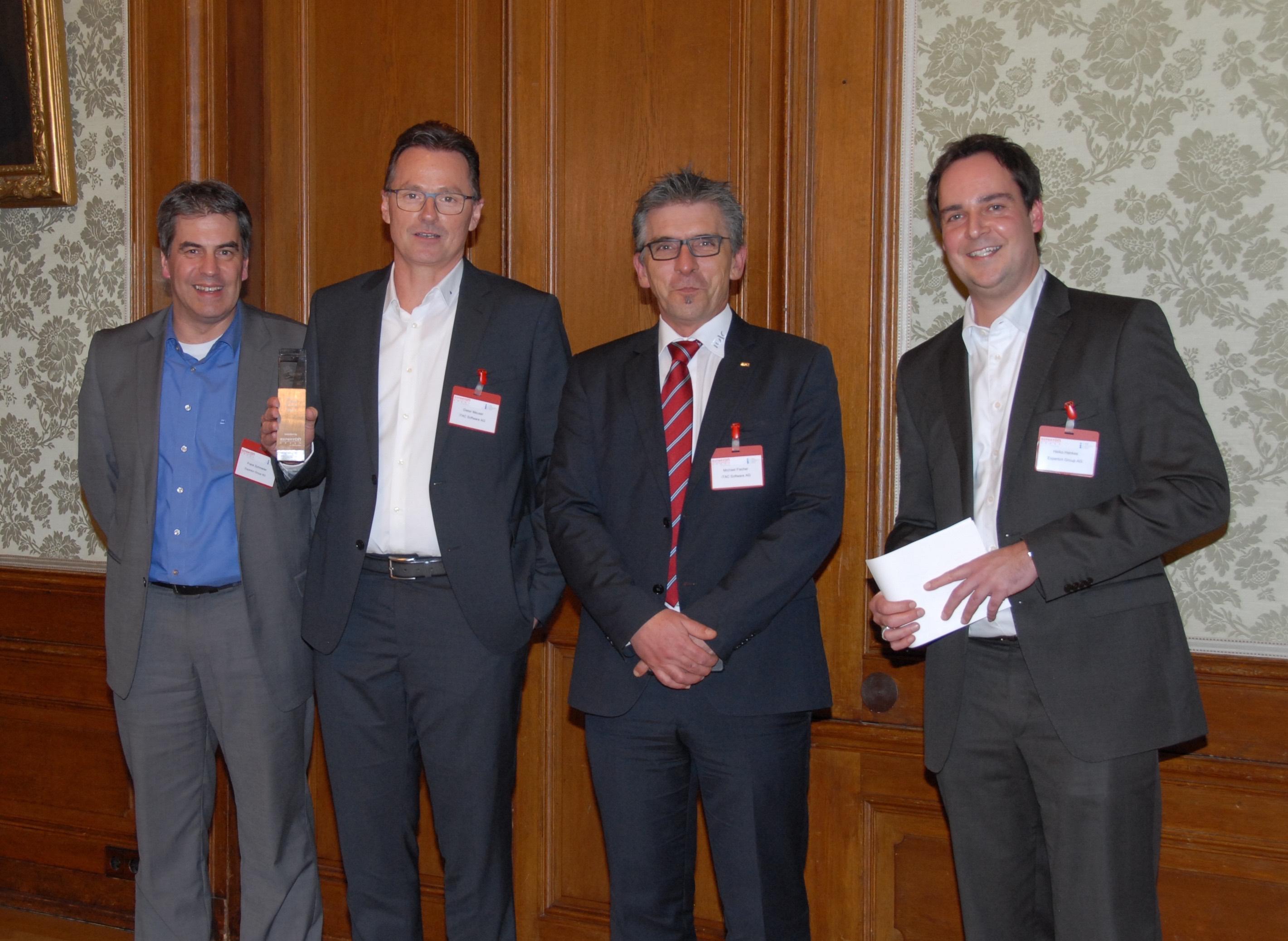 Experton Group kürte Benchmark Leader: iTAC.IoT.Platform mit  Award ausgezeichnet