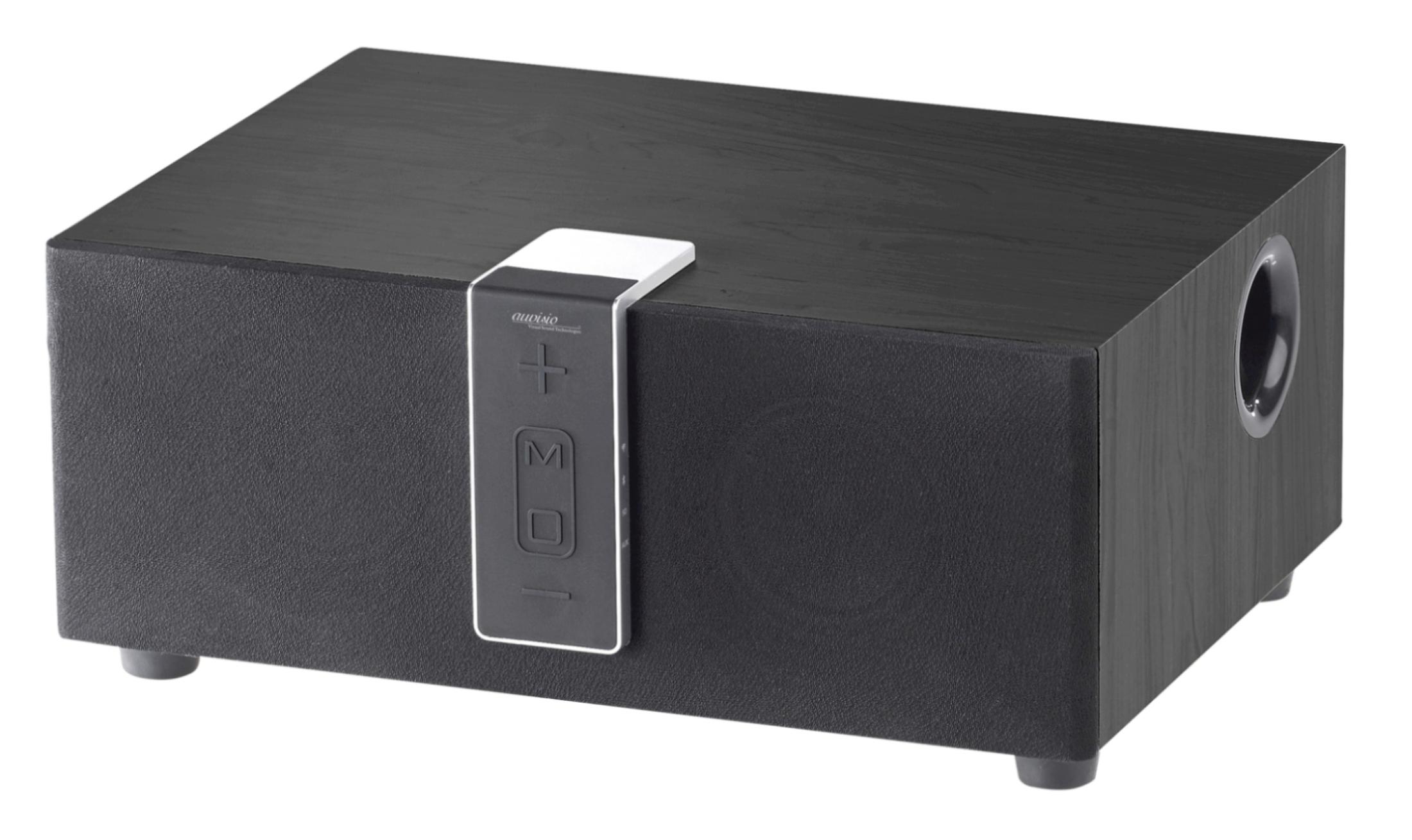 auvisio WLAN-Multiroom-Lautsprecher mit Subwoofer und BT
