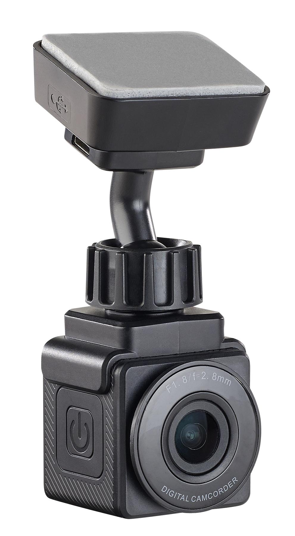 NavGear Mini-Full-HD-Dashcam mit WLAN, G-Sensor und GPS