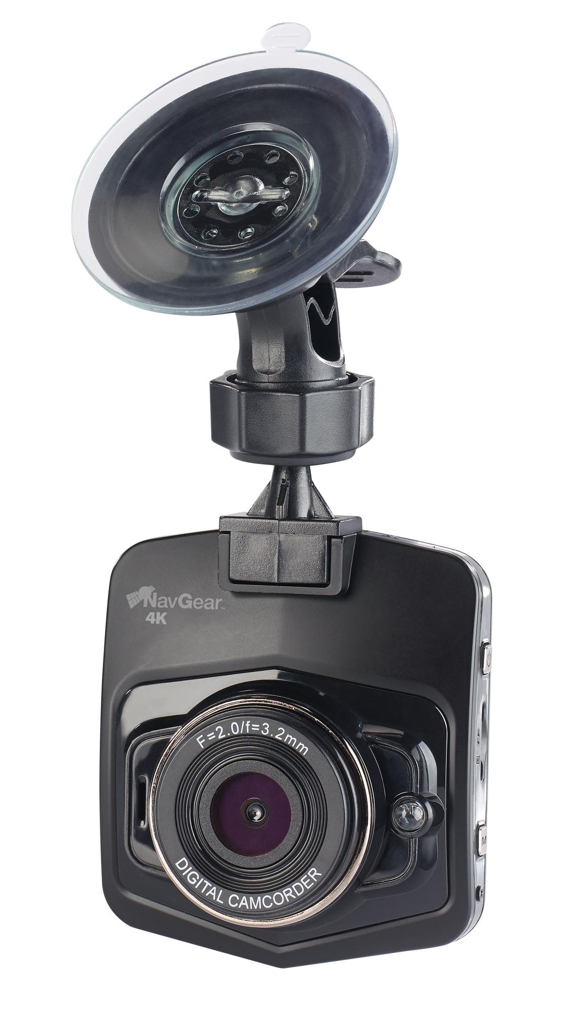 NavGear 4K-Dashcam mit G-Sensor, WLAN, UHD, 170 Grad