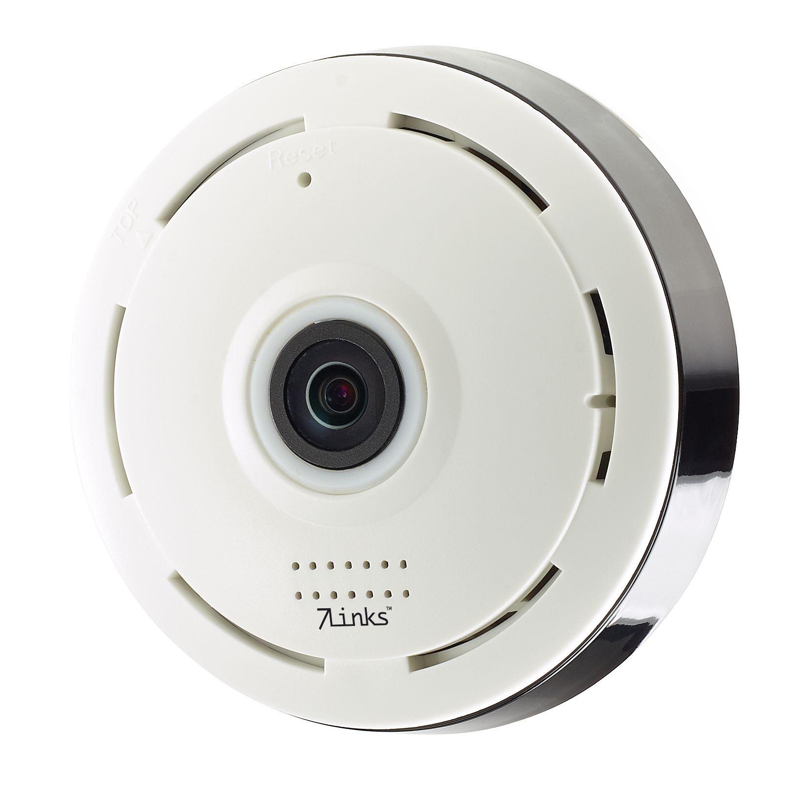 7links Panorama-Überwachungskamera, Rundum- & Nachtsicht