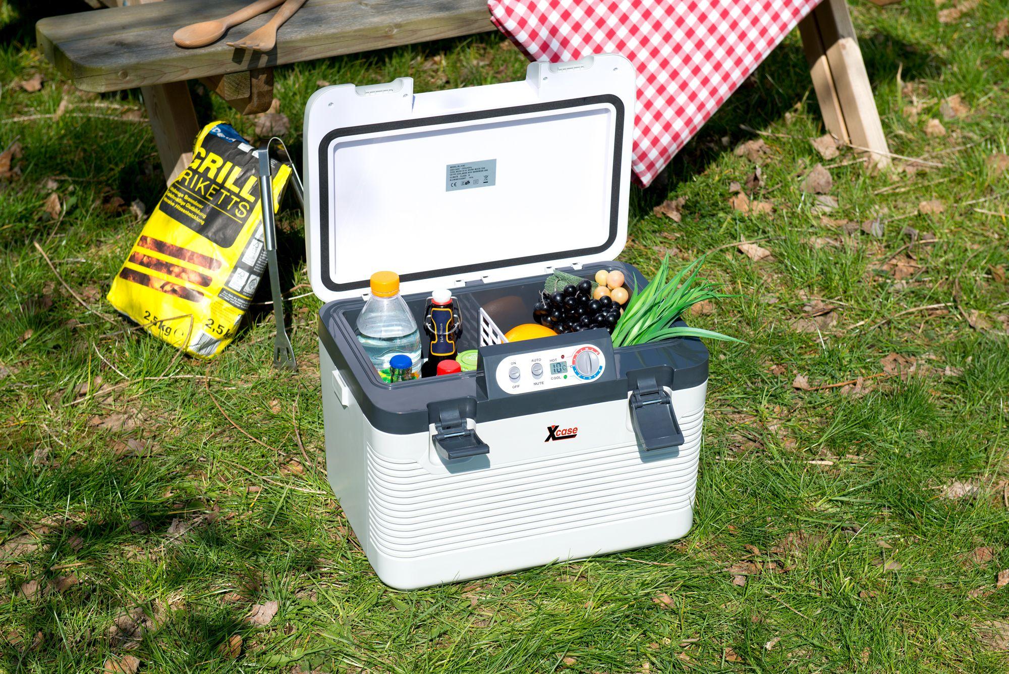 Xcase Thermoelektrische Kühl-/Wärmebox, 19 Liter