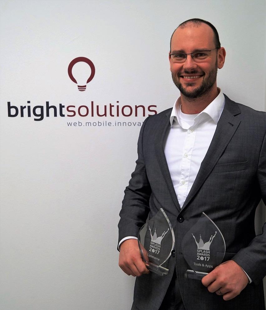 Bright Solutions gewinnt Splash Awards in den Kategorien Commerce und Tools