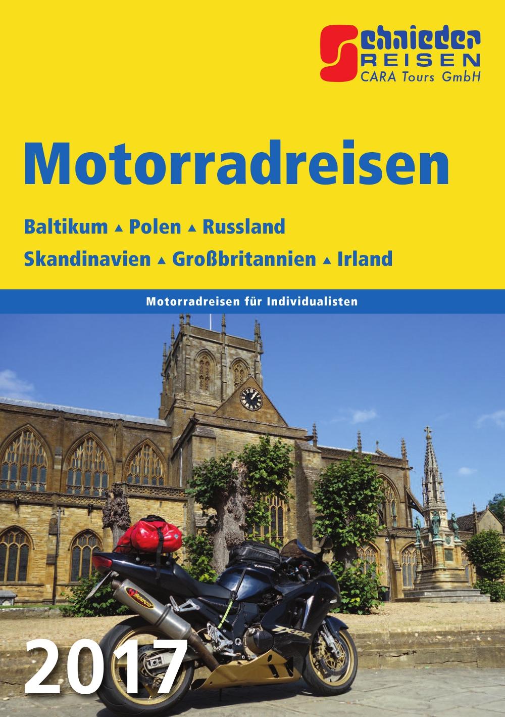 Auf zwei Rädern durch Nord- und Osteuropa
