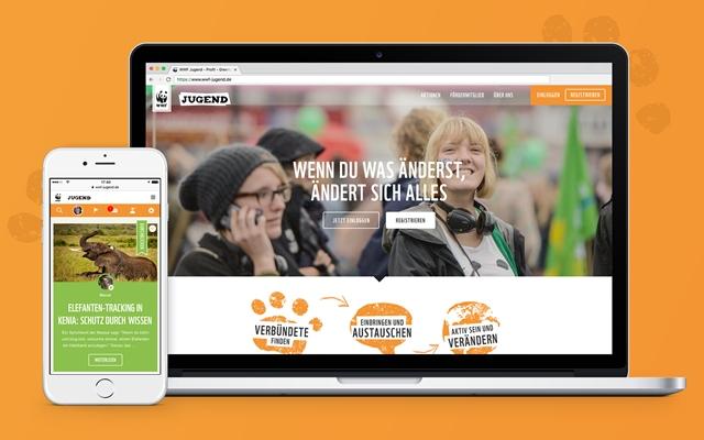 Mobile First und Snackable Content: oddity gibt wwf-jugend.de ein neues Gesicht