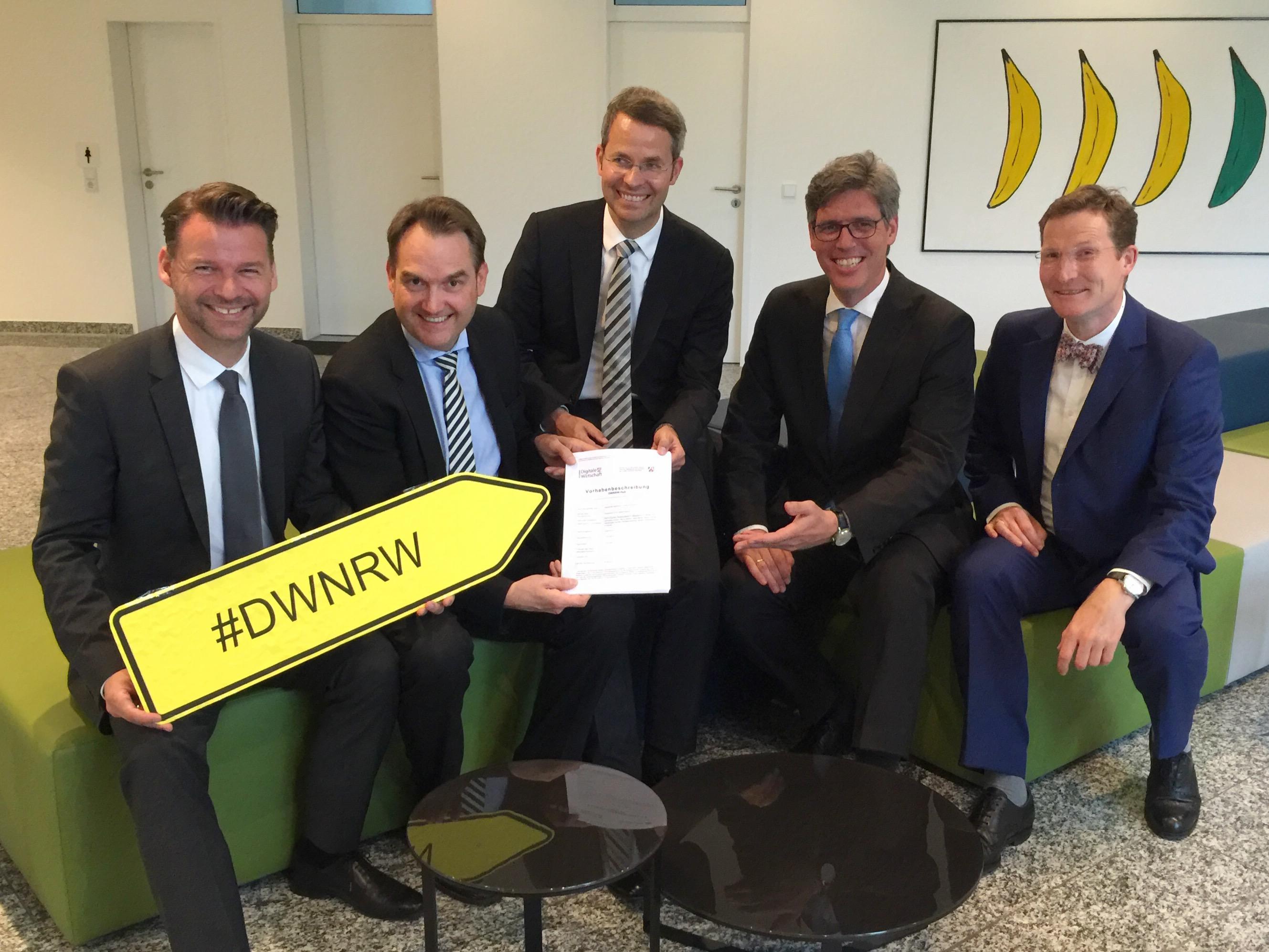 Aachen reicht Bewerbung zum DigitalHUB NRW ein
