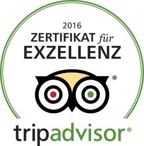 Tripadvisor-Auszeichnung f#xFCr Hotel Antoniushof