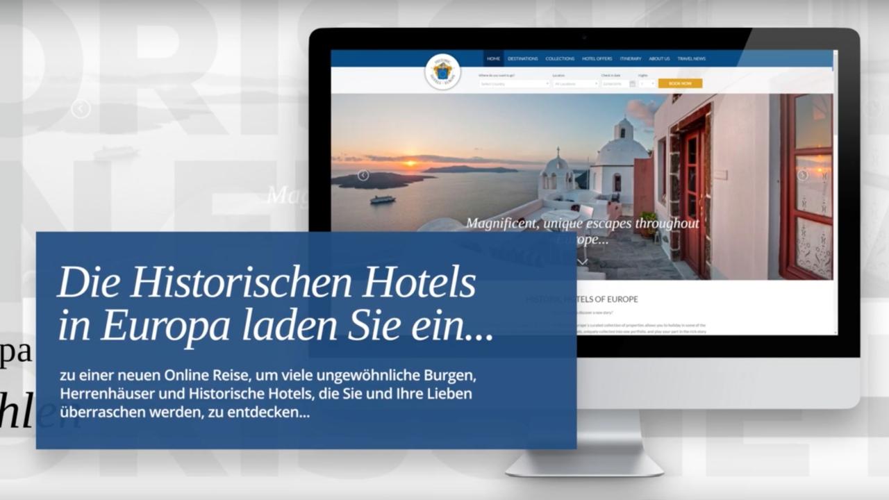 Historic Hotels of Europe startet innovative G#xE4ste Plattform