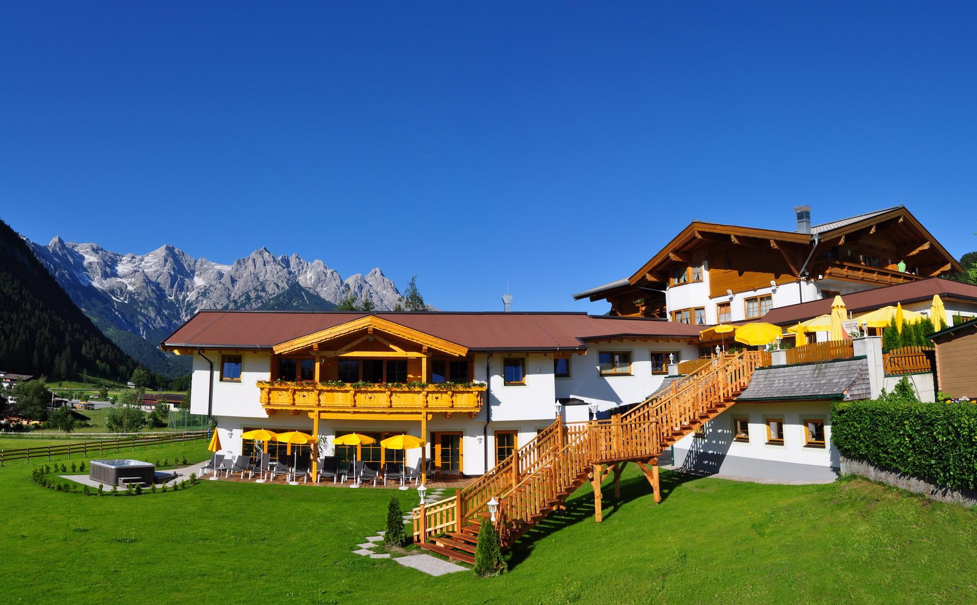 Single aber nicht allein im Hotel Unterlechner in Tirol