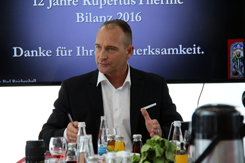 Bilanzpressekonferenz RupertusTherme Bad Reichenhall