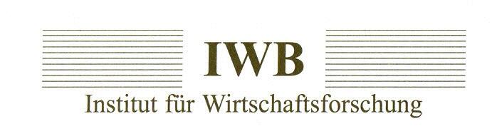 Wirtschaftsforschungsinstitut IWB bündelt Kernkompetenzen diverser Disziplinen