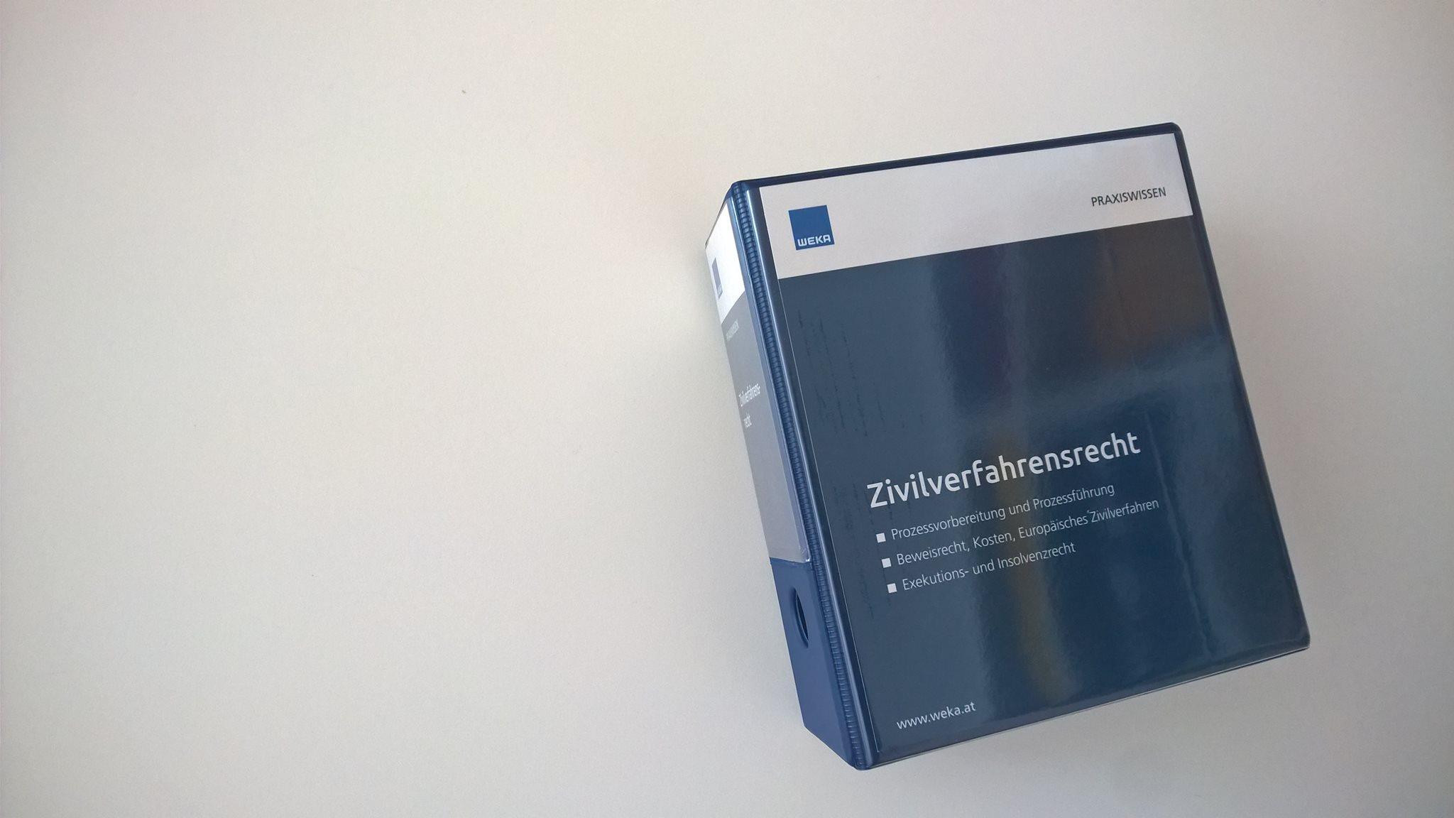 Handbuch zum Zivilprozessrecht jetzt noch umfangreicher