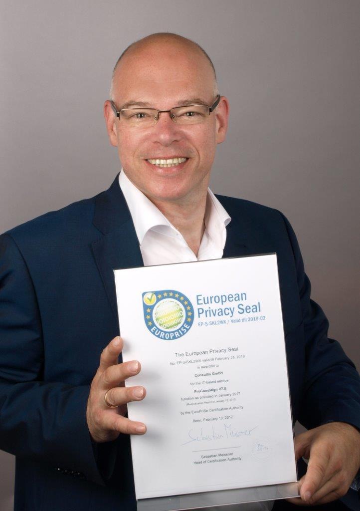 Consultix GmbH erhält erneut das Europäische Datenschutz-Gütesiegel EuroPriSe