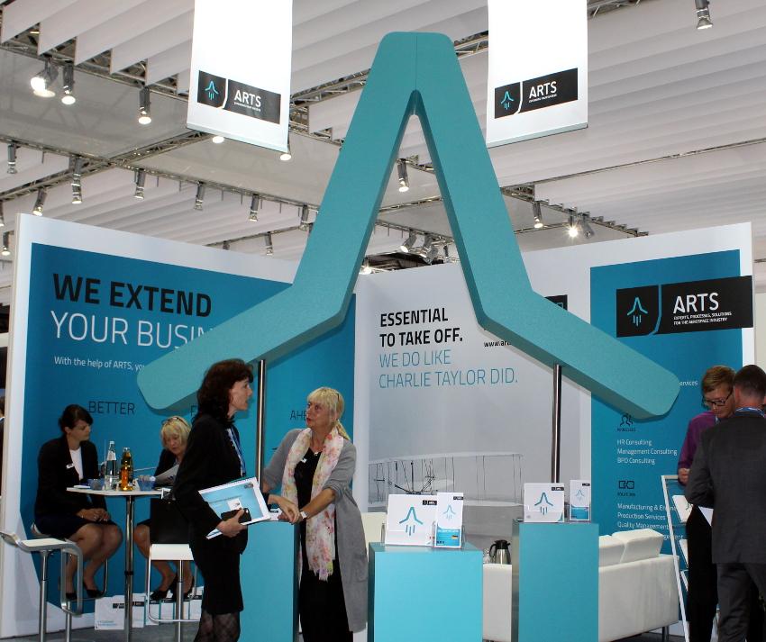 ARTS auf der Aircraft Interiors Expo 2017