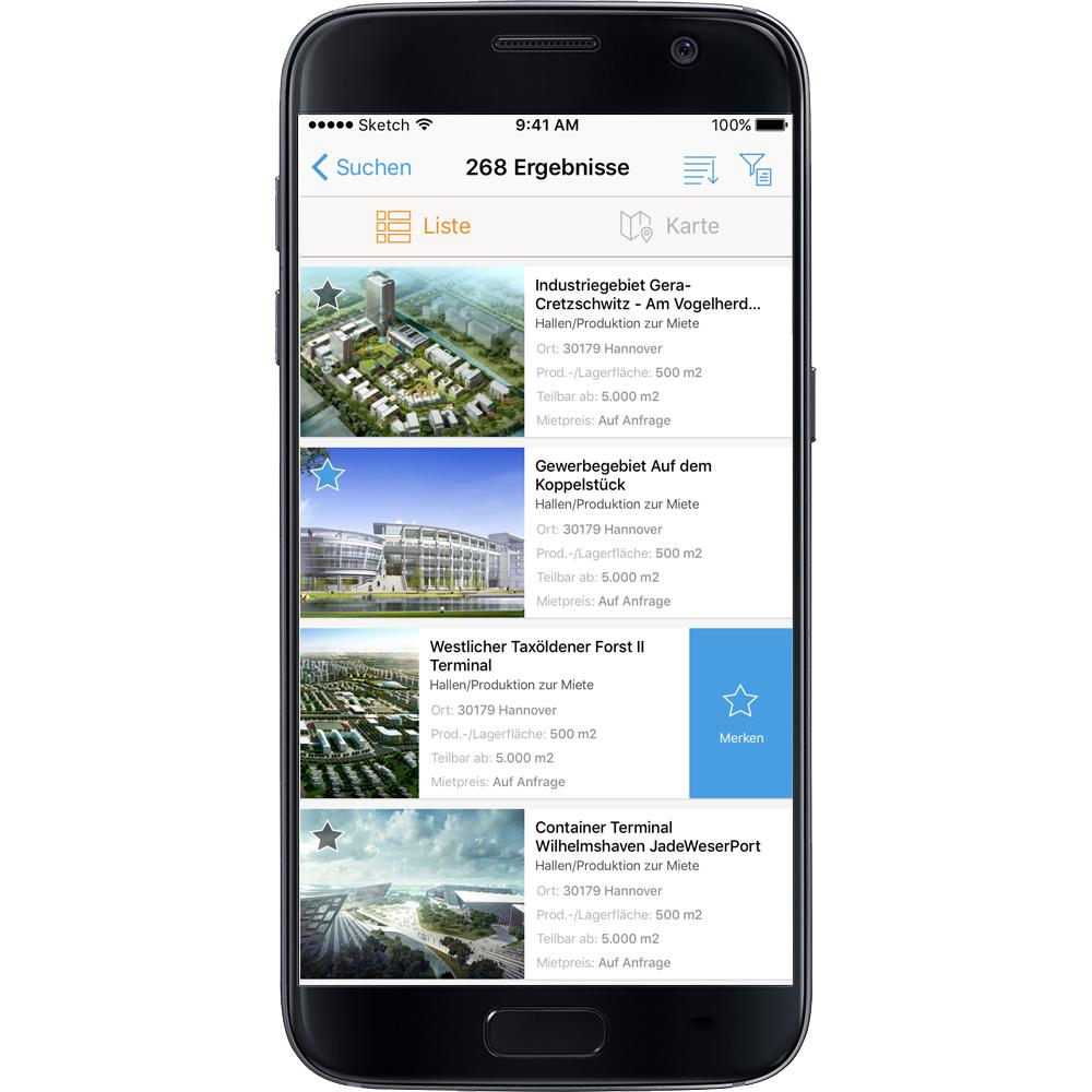 Ansiedlung leicht gemacht mit der Gewerbegebiete.de-App von Logivest