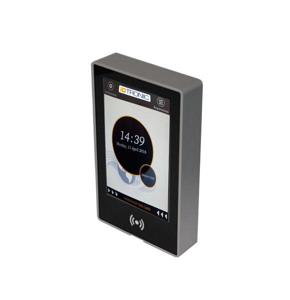 Innovation im Zutrittsbereich- das neue Touch System von iDTRONIC