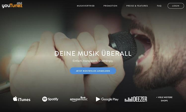 YouTunez: Online-Musikvertrieb startet Relaunch mit neuen Angeboten