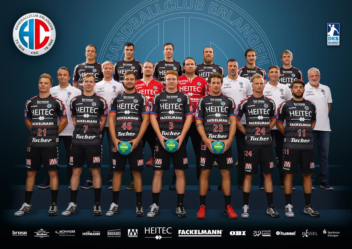 HC Erlangen ist Mannschaft des Jahres 2016 in Erlangen