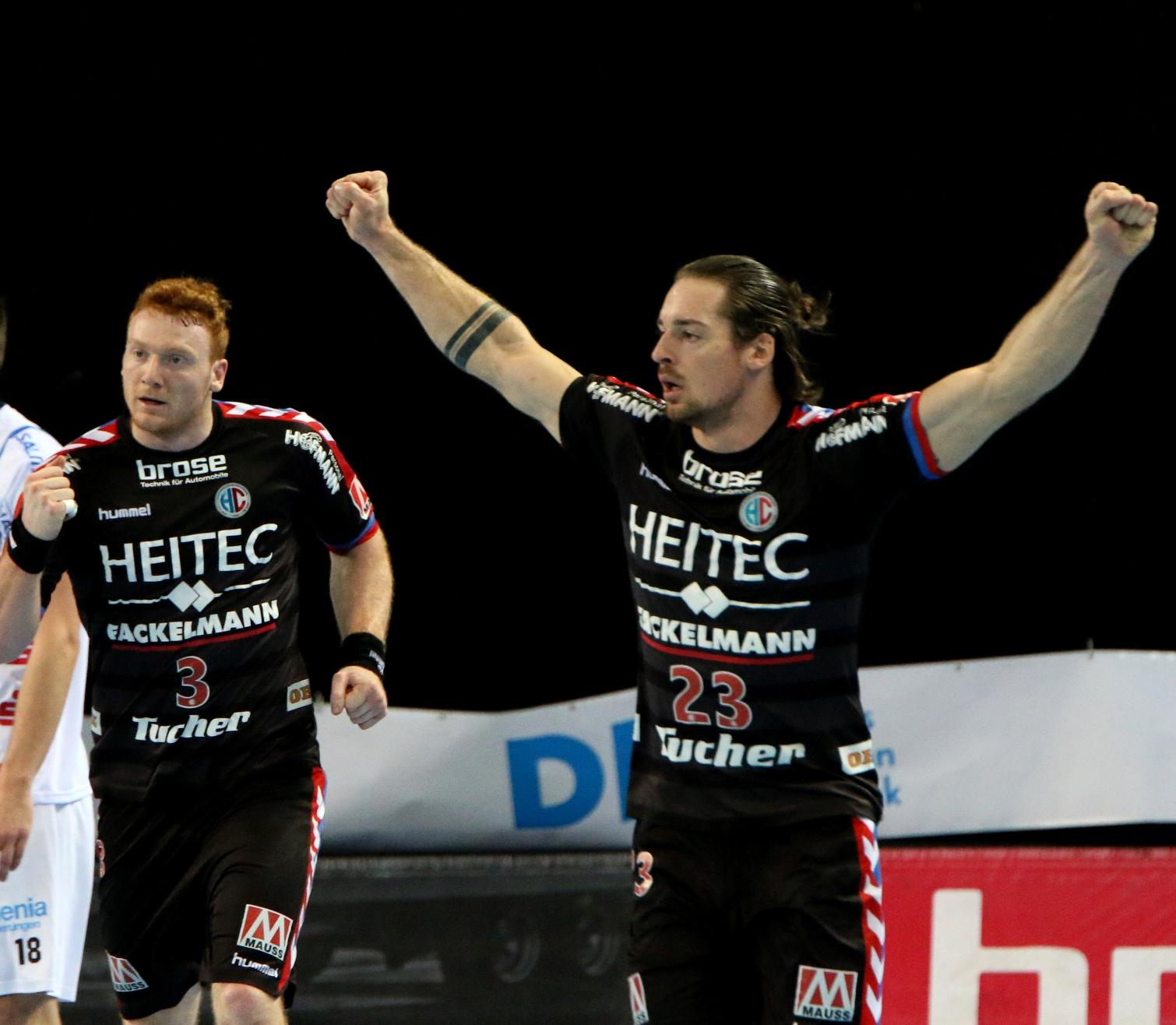 HC Erlangen: Theilinger und Rahmel sind für Nationalmannschaft nominiert