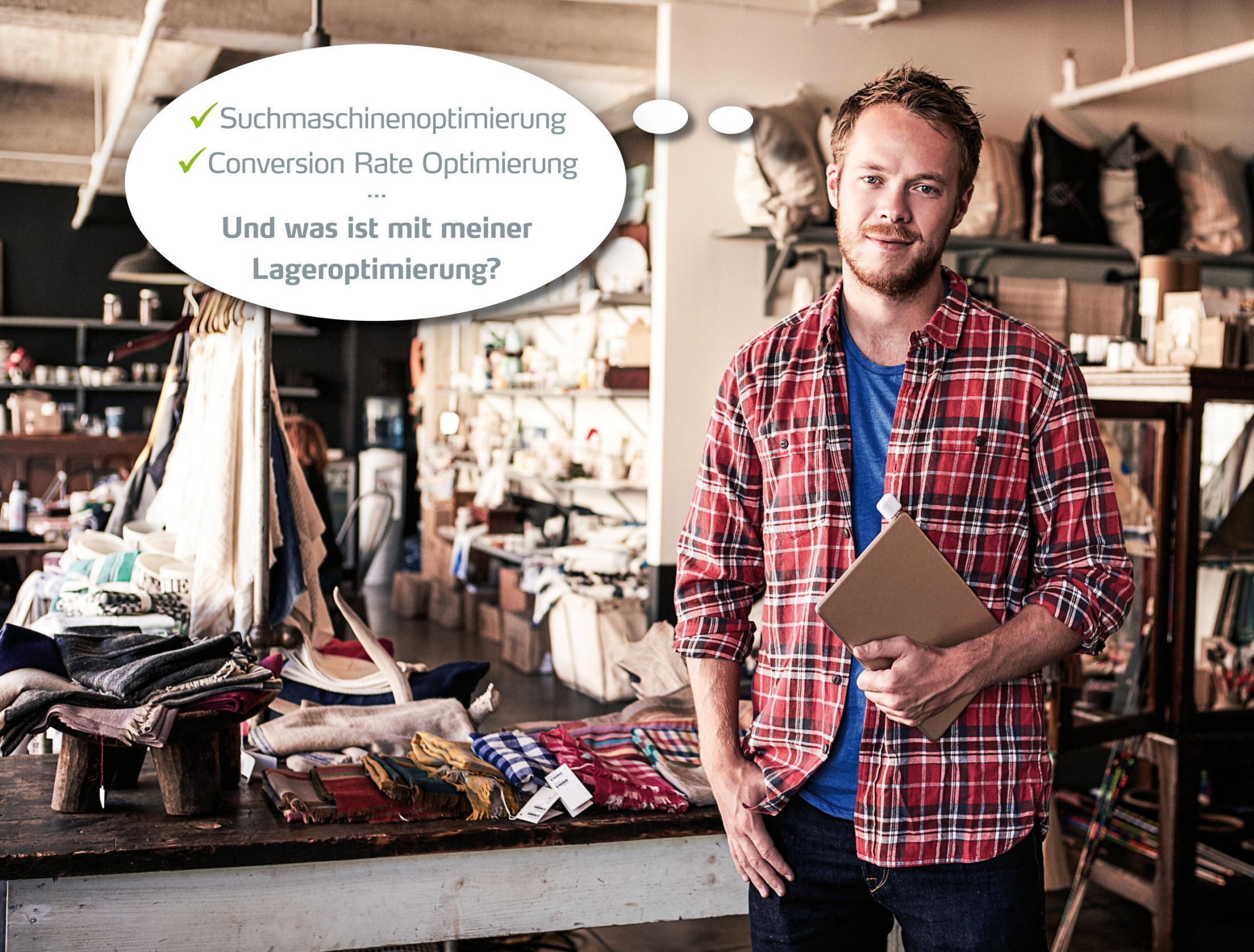 Lageroptimierung für Onlinehändler