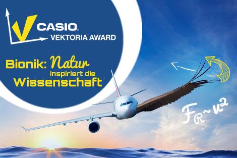 Schülerwettbewerb CASIO Vektoria Award zum Thema Bionik