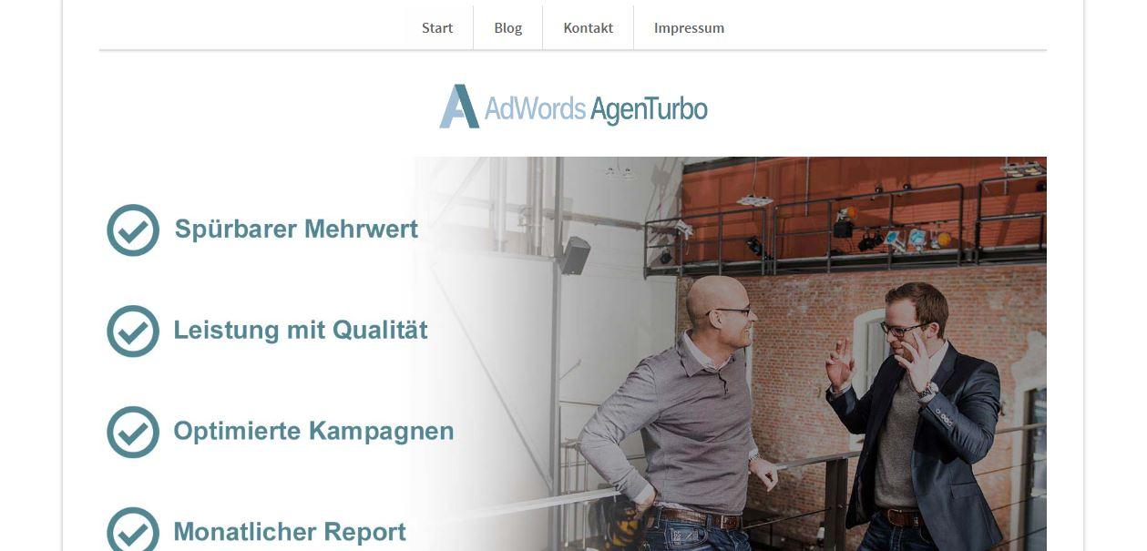 Google AdWords f#xFChrt zu unternehmerischen Erfolg