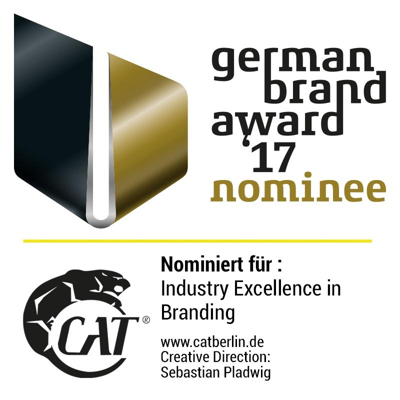 CatBerlin nominiert für den German Brand Award
