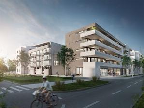 """""""Tübingen Carre 5"""": architektonische Kontraste und Virtual-Reality-Vermarktung"""