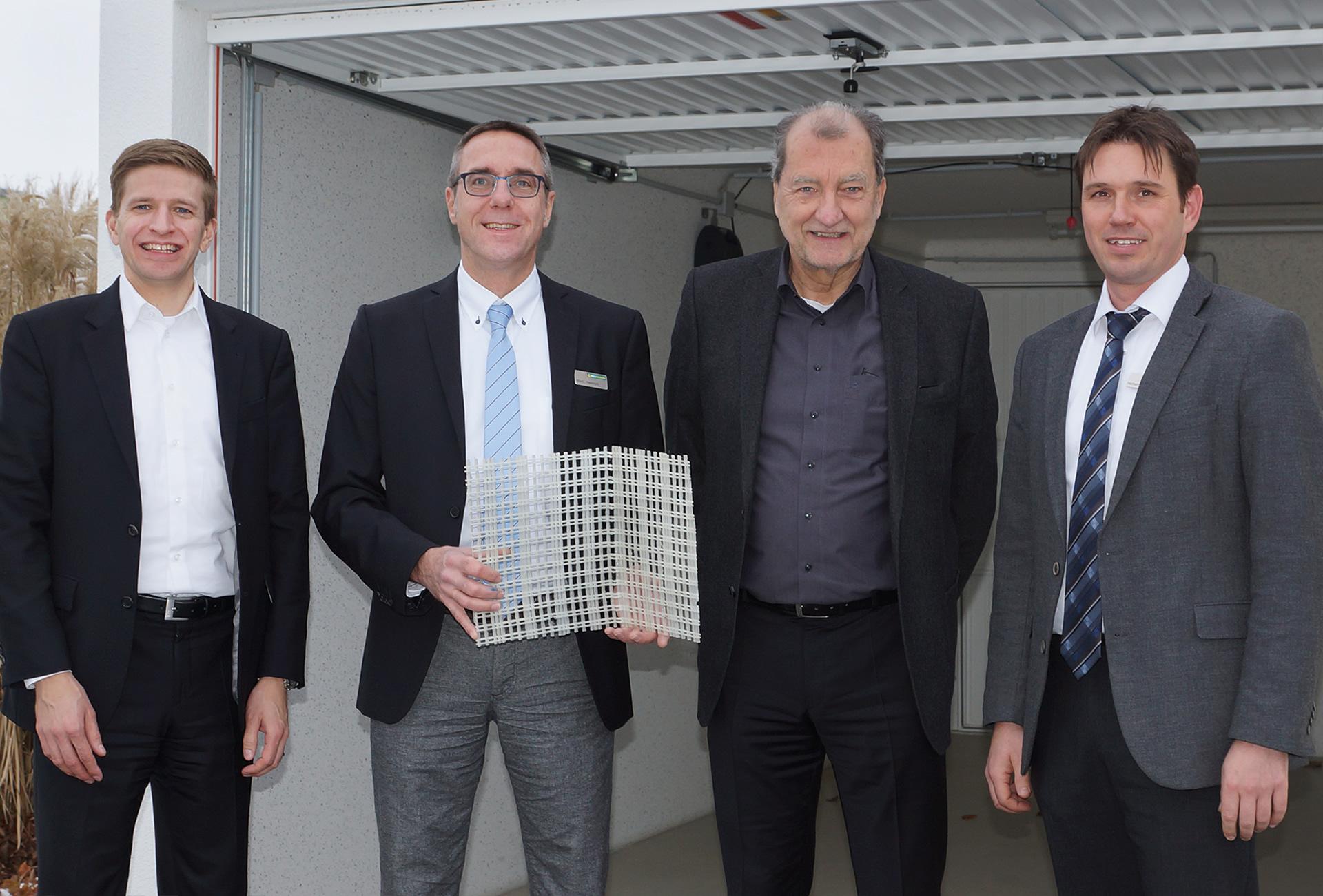 Weltneuheit: Textilbeton-Garage aus Tübingen steht kurz vor der Zulassung